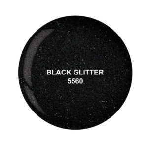 Dip System puder kolorowy Black Glitter 15 g 5560