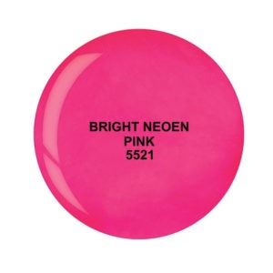 Dip System puder kolorowy Bright Neon Pink 15 g 5521