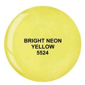 Dip System puder kolorowy Bright Neon Yellow 14 g 5524