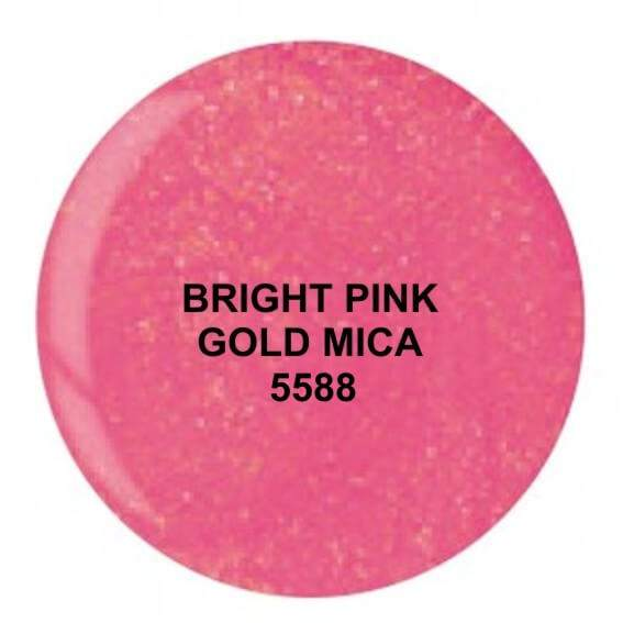 Dip System puder kolorowy Bright Pink Gold Mica 14 g 5588
