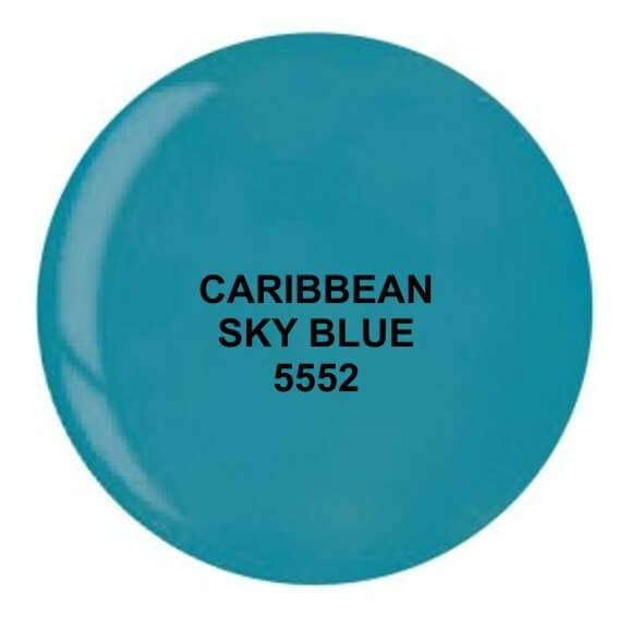 Dip System puder kolorowy Caribbean Sky Blue 14 g 5552