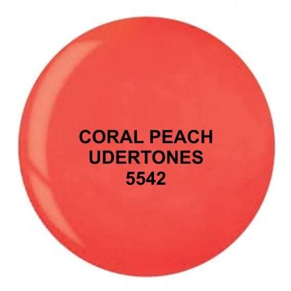 Dip System puder kolorowy Coral Peach Undertones 14 g 5542
