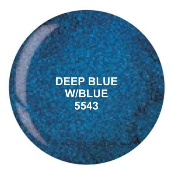 Dip System puder kolorowy Deep Blue W Blue 14 g 5543