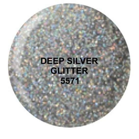 Dip System puder kolorowy Deep Silver Glitter 14 g 5571