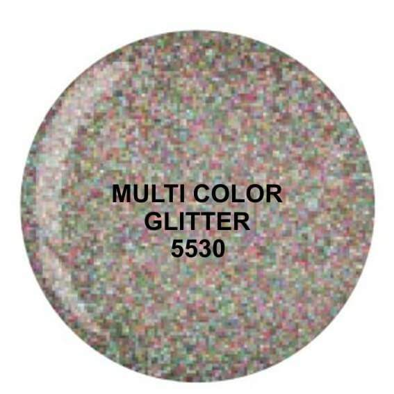 Dip System puder kolorowy Multi Color Glitter 14 g 5530