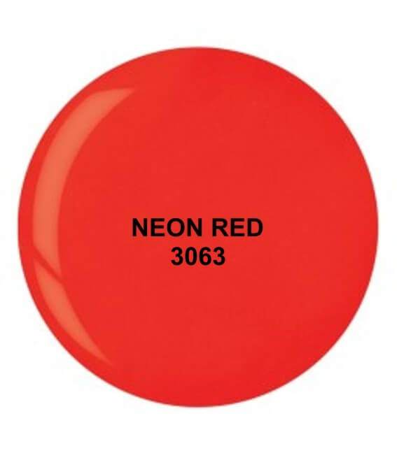 Dip System puder kolorowy Neon Red 14 g 3063