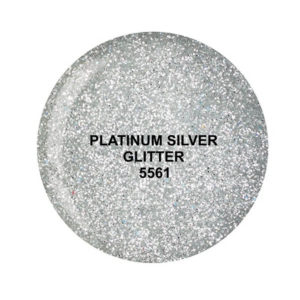 Dip System puder kolorowy Platinum Silver Glitter 15 g 5561