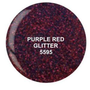 Dip System puder kolorowy Purple Red Glitter 14 g 5595
