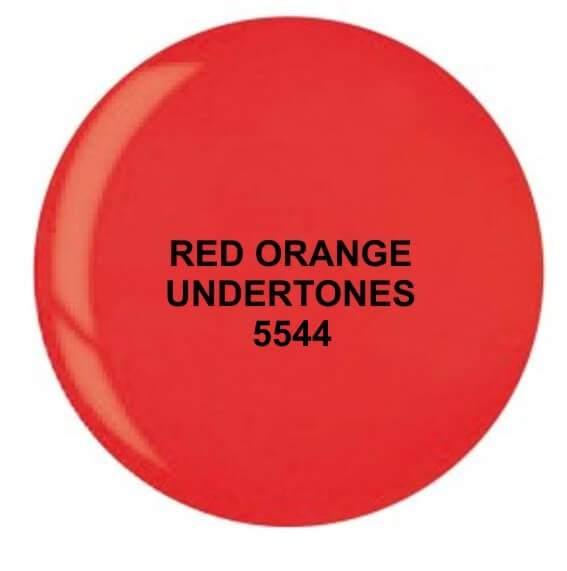 Dip System puder kolorowy Red Orange Undertones 15 g 5544