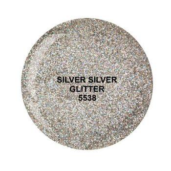 Dip System puder kolorowy Silver Silver Glitter 15 g 5538