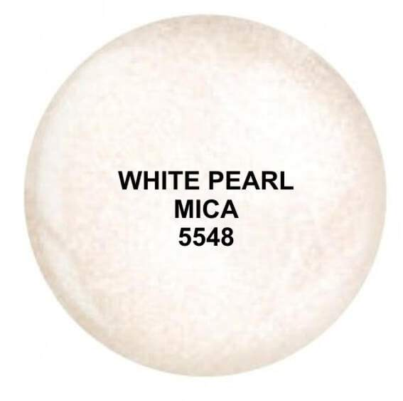 Dip System puder kolorowy White Pearl Mica 14 g 5548