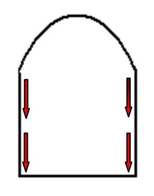Frez kamienny sciety stozek 1