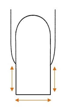 Technika pilowania paznokci etap3